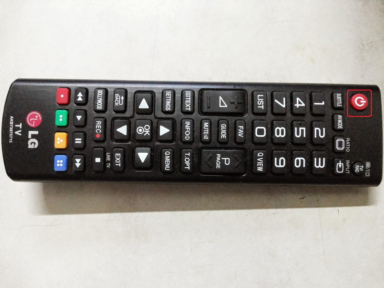 Lg Remote Source Button