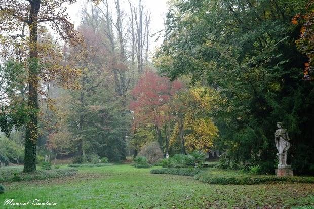Riscossa di Mira, Villa Widmann, giardino