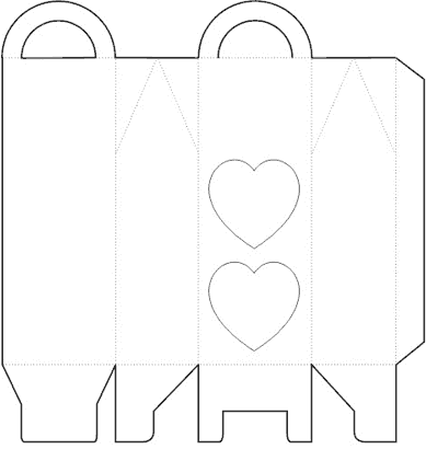 Templates for Wedding Souvenir Boxes: