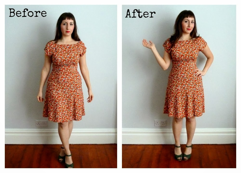 113e5402fab Using shapewear to create a vintage silhouette - A Stitching Odyssey