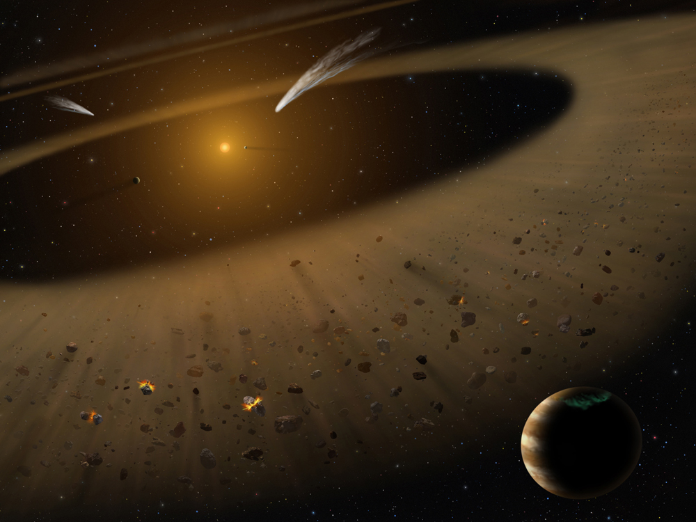 Astronomers Confirm Nearby Star a Good Model of Our Early Solar System