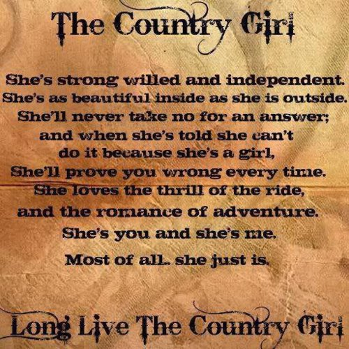 Funny Pictures Gallery: Country quotes, best country quotes