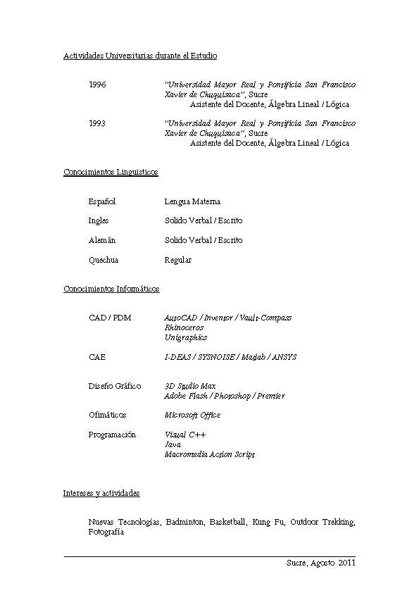 2011 7mo Congreso Boliviano De Ingenieria Mecanica Electromecanica
