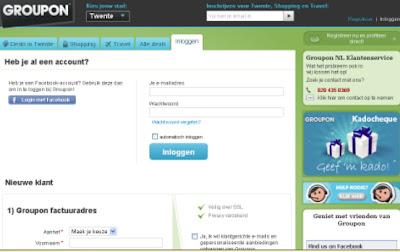 groupon my account login