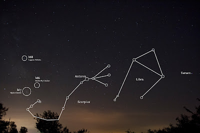 scorpius constellation label