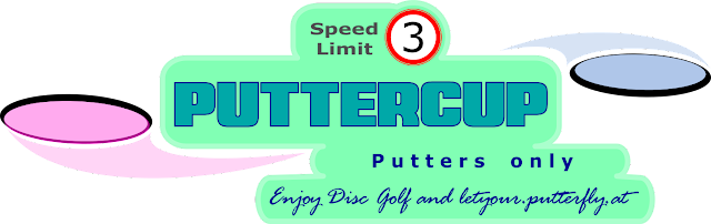 Putterfly Disc Golf Puttercup