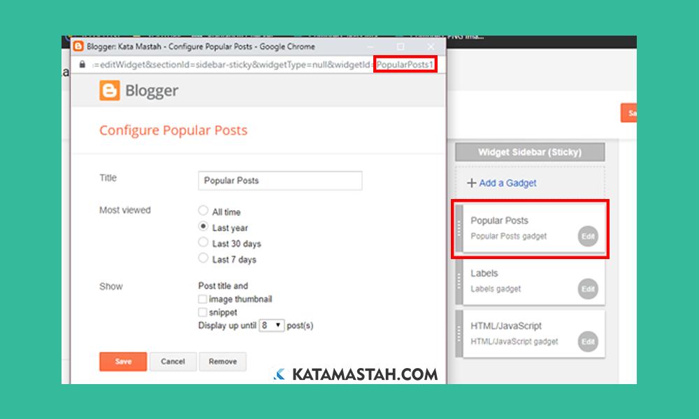 Cara Praktis Menampilkan Widget Hanya di Homepage Cara Praktis Menampilkan/Menyembunyikan Widget Blog di Halaman Tertentu
