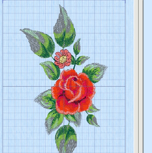 Embroidery created in Premier +2 Embroidery Ultra Software