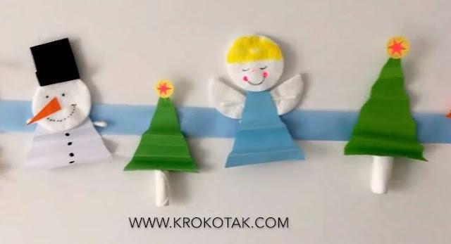Lindos enfeites natalinos para fazer com as crianças na escola ou em casa