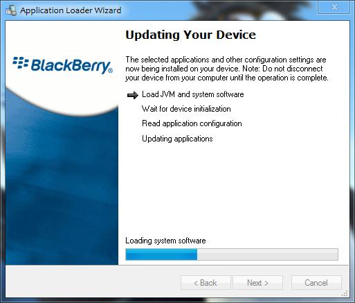 Memuat System Software Pada BlackBerry