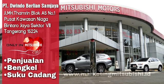 Mitsubishi Bintaro Dealer Dengan Lokasi Yang Strategis di tangerang