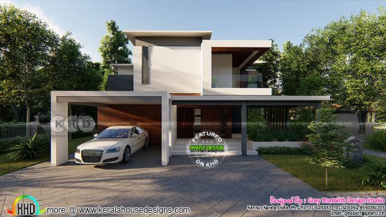 3110 sq-ft modern contemporary house plan