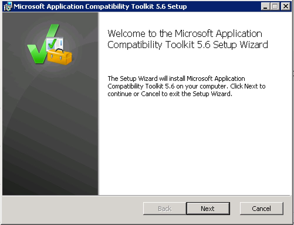 AppV5 – Using Application Compatibility Toolkit to solve