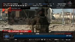 تردد قناة CNN الاخبــاريه