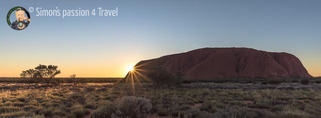 Alba su Uluru