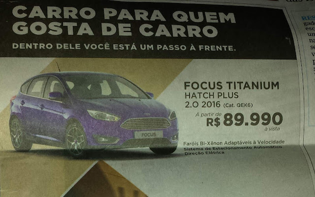 Ford Focus 2016 Hatch Titanium Plus - desconto