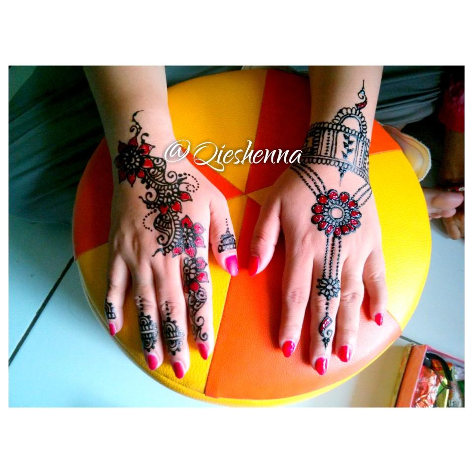 Gambar Henna Warna Balehenna