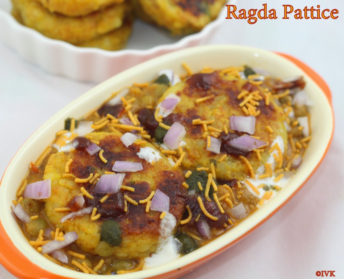 Ragda Patties Recipe Ragda Pattice Recipe How to make