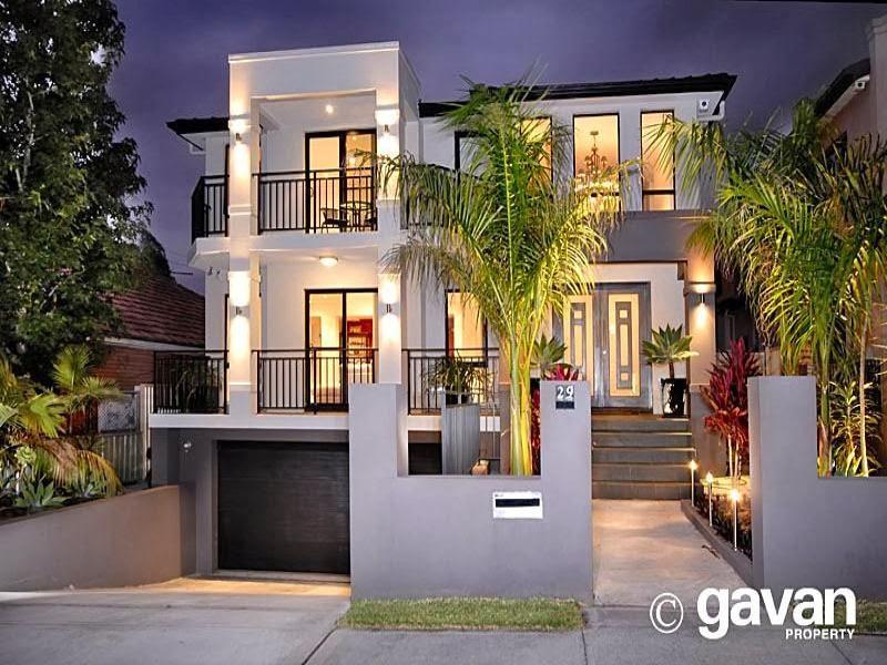 Hogares frescos fachadas de casas especial de hogares for Fachadas modernas para casas de dos pisos