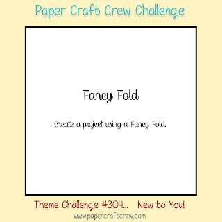 Paper Craft Crew Fancy Fold Theme Challenge #PCC304 from Mitosu Crafts UK