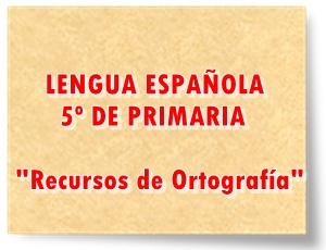 Juegos actividades interactivas y recursos digitales y escritos de Gramática Lengua Española de 5º de Primaria
