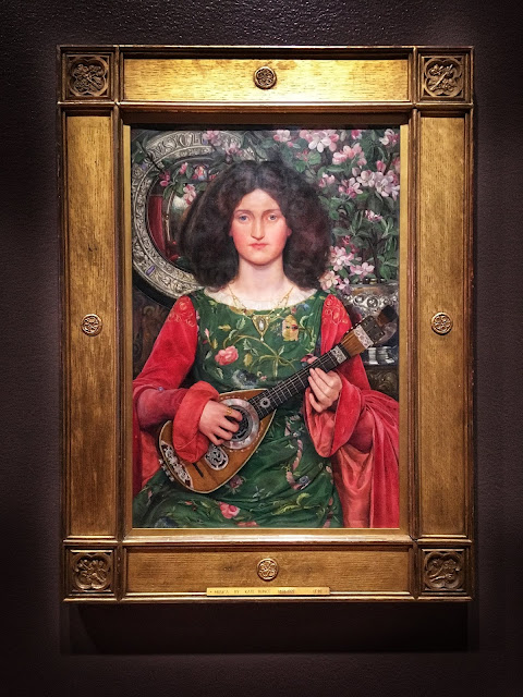 Musica by Kate Elizabeth Bunce ca. 1895-97, oil on canvas
