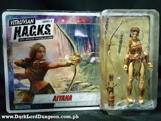 Vitruvian HACKS Aiyana Elven Archer  blister pack