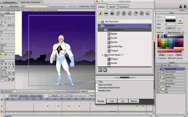 Anime Micro Moho 12.5.0.22438 - Tạo chuyển động 2D chuyên nghiệp