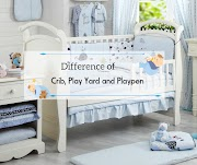 What's The Difference of Crib, Playpen and Play Yard?