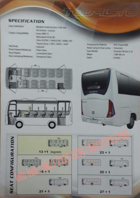 kredit dp ringan mobil medium bus mitsubishi 2019