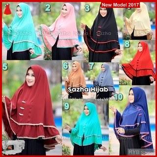 RYB062B Hijab Jilbab Cantik Khimar Murah Naomi BMG Online Shop