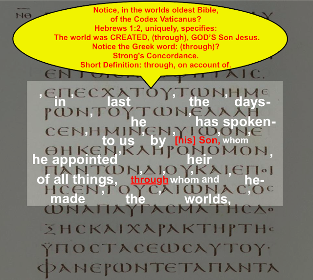 Hebrews 1:2. Codex Vaticanus. Translated by Simon Brown.