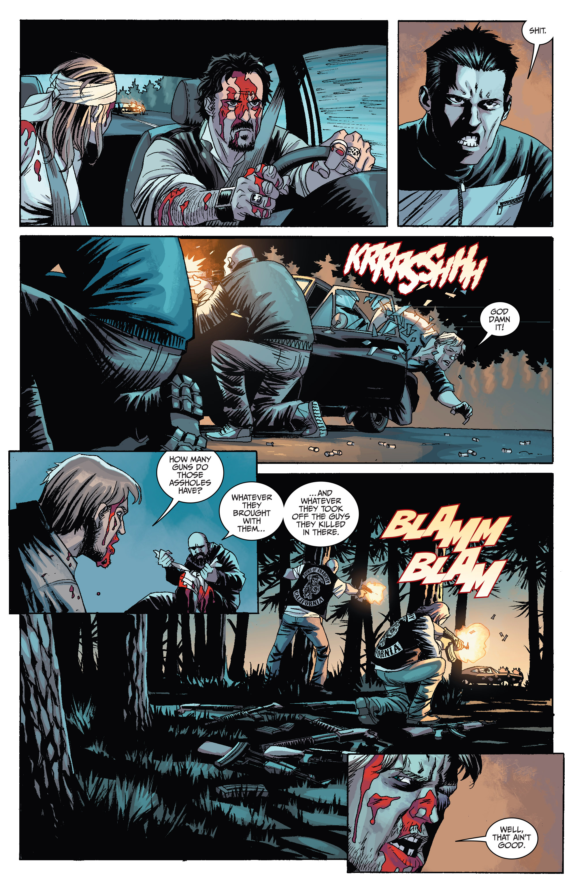Read online Sons of Anarchy comic -  Issue #6 - 13