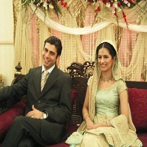 Fiza Ali With Her Husband