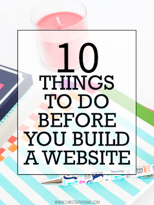 10 Things T0 Do Before You Build A Website