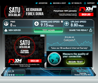 Warih-Homestay-SpeedTest.Net