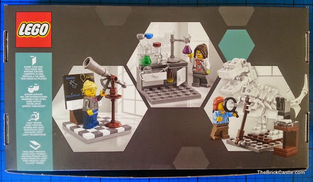 LEGO Ideas Research Institute set 21110 box rear