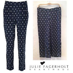 Crown Princess Mary wore Julie Fagerholt Heartmade trousers