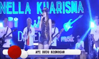 Lirik Lagu Ati Dudu Kos Kosan - Nella Kharisma