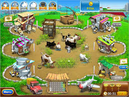 `Download Farm Frenzy 1 Versi Pizza Party PC Games Full Version ZGASPC