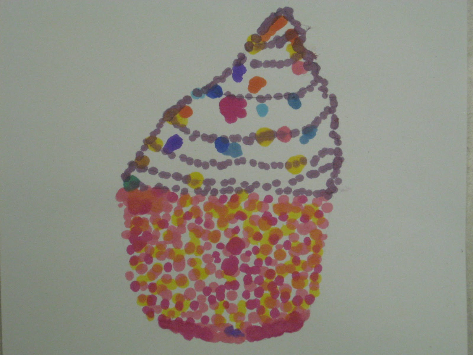 Miss Young S Art Room 5th Grade Pointillism