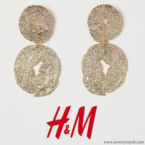 Kate Middleton wore H&M Large Earrings