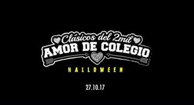 Amor de Colegio: PROM Halloween 2017