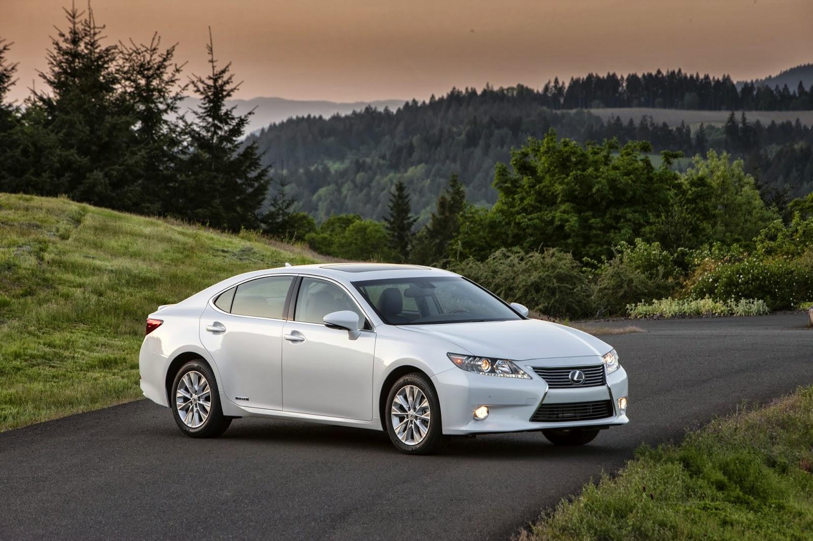 2014 Lexus ES 300h Hybrid Luxury Sedan Receives 40 Mpg EPA Estimated  Combined Fuel Economy