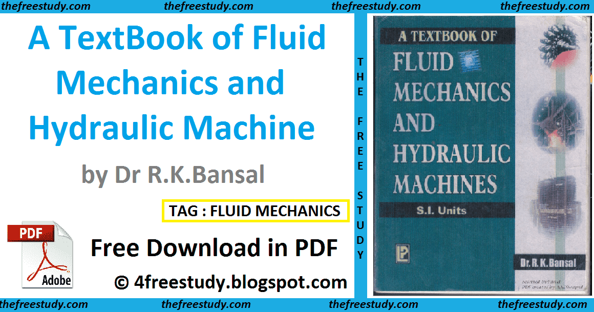 Rk Bansal Fluid Mechanics Full Book Pdf