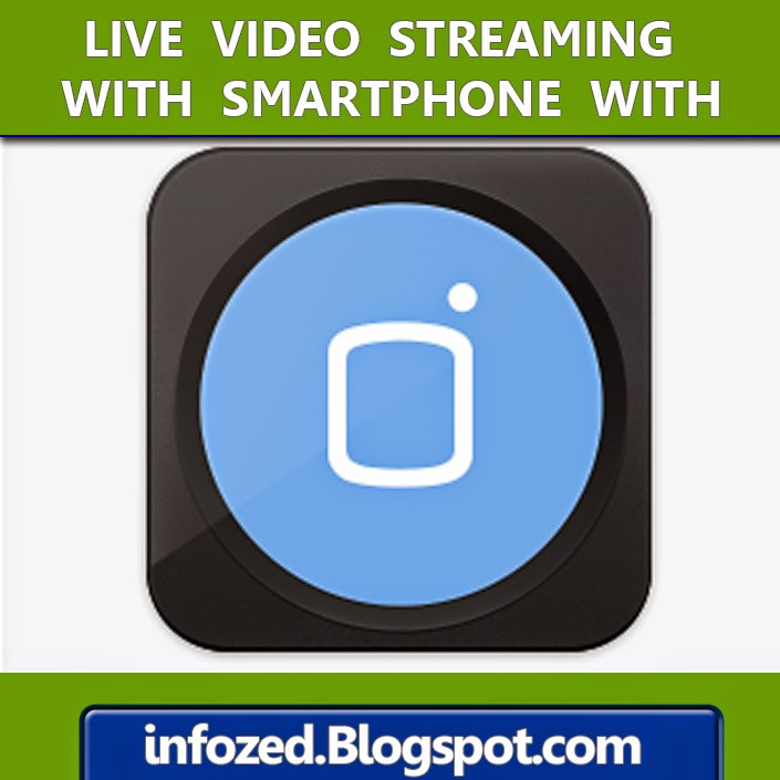 live video streaming broadcasting on internet with mobli app
