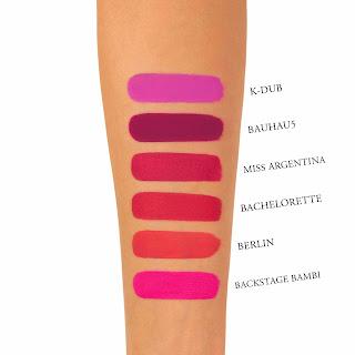 Kat Von D Liquid Lipstick Berlin Swatch