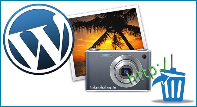 WordPress'de Resmin Altındaki Url'yi Otomatik Kaldırma