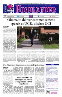 The Highlander - UC Riverside's newspaper