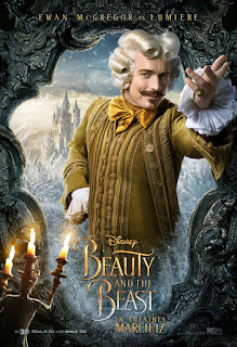 Beauty and the Beast (2017) Poster Ewan McGregor